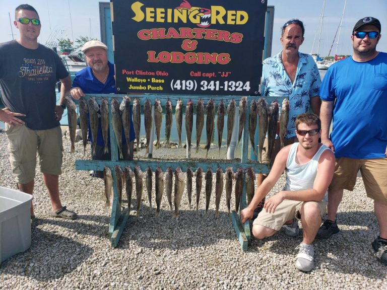 Maxed out on fishing limit on Lake Erie