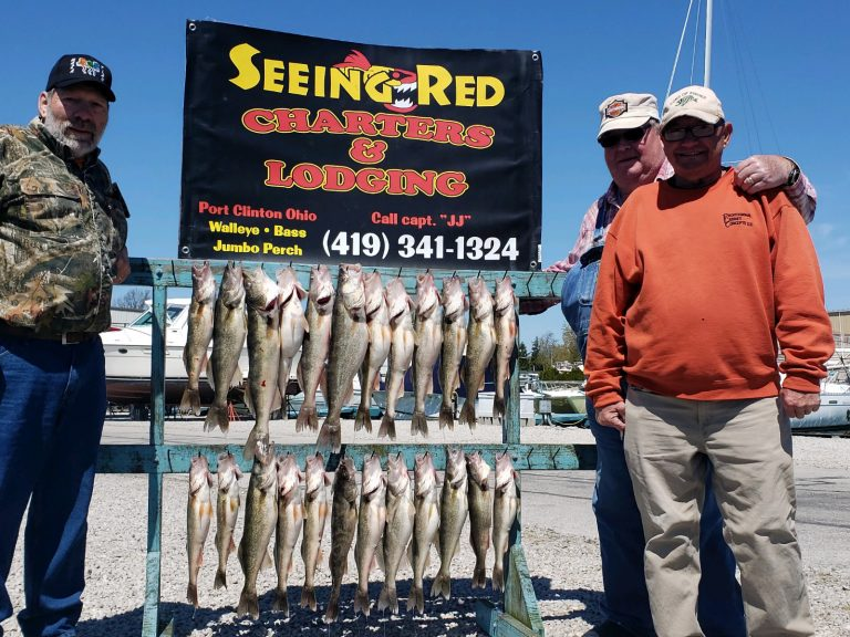 May 2020 Walleye Catch 3 fishermen