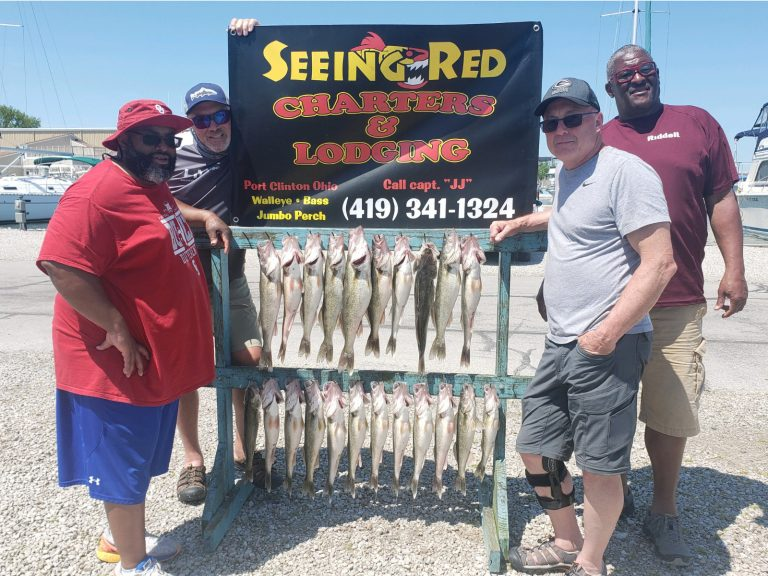 May 2020 Walleye Fishing 4 men